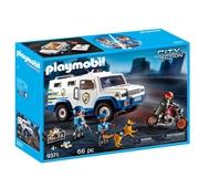 Playmobil City Action - Carro Blindado - 9371
