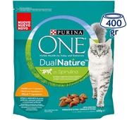 Ração Seca para Gato Adulto  DualNature Rico em Frango com Espirulina Natural