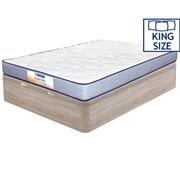 Pack Dafne Colchão King + Base Bege 200 x 180 cm