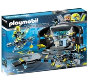 Playmobil Top Agents - Centro de Comando do Dr.Drone - 9250