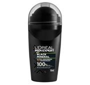 Desodorizante Roll-on Men Expert Black Mineral