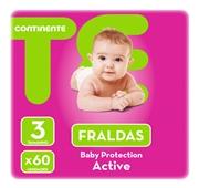 Fraldas Active Tamanho 3 4-10 kg