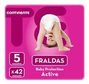 Fraldas Active Tamanho 5 13-18 kg