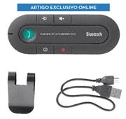 Kit Bluetooth Mãos Livres Preto