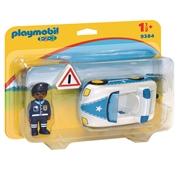 Playmobil 1.2.3 - Carro de Policía - 9384