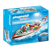Playmobil Family Fun - Lancha com motor - 9428