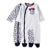 Conjunto 2 Babygrows Mickey 24/36 Meses