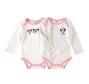 Conjunto 2 Bodies Minnie 12/18 Meses