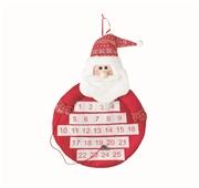 Calendário Advento Pai Natal 53cm Fun