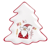Prato Pinheiro Pequeno Pai Natal
