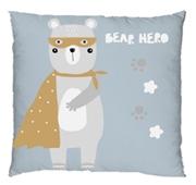 Almofada 35x35cm Bear Hero Bear Collection