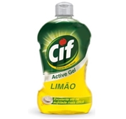 Detergente Manual Loiça Active Gel Limão