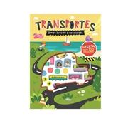 O meu Livro Autocolantes Transportes (+3 anos)