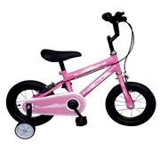 """Bicicleta de Criança +3 A Roda 12"""" Team Balance Rosa"""