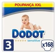 Box Fraldas Sensitive XXL T3 6-10 kg