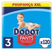 Box Fraldas Pants Azul XXL T3 6-11 kg
