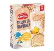 Seleção da Natureza Papa Infantil Láctea Aveia Quinoa Ananás +6 meses