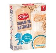 Seleção da Natureza Papa Infantil Láctea Aveia Quinoa +6 meses