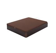 Pack Colchão Solteiro Sleep + Base 90x190 Wengué