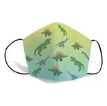 Máscaras Proteção Reutilizável Infantil Dino