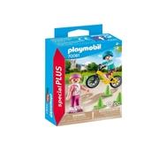 Playmobil - Crianças com Patins e Bicicleta - 70061
